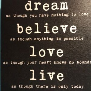 1154 Lill Studio Other - Quote to hang on your wall
